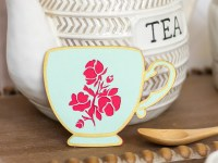 Die Cut Spring Teacups