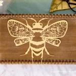 Intricate Honey Bees