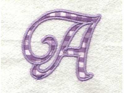 Machine Embroidery Designs Applique Alphabet Set