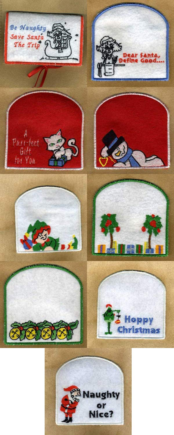 Machine Embroidery Designs In The Hoop Christmas Gift