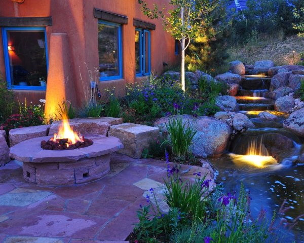 water features - fountains waterfalls