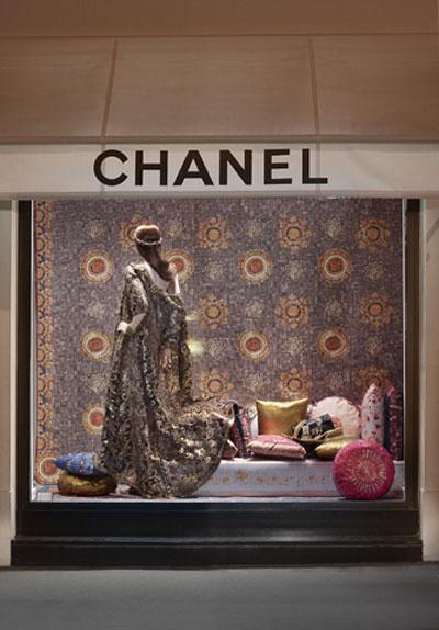 Chanel Window Shopping ParisByzance