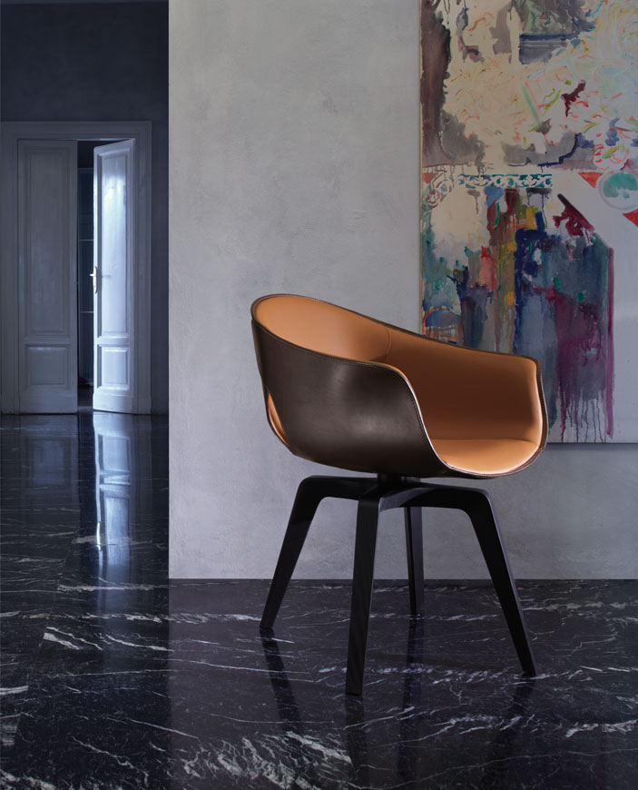 Ginger Chair by Roberto Lazzeroni