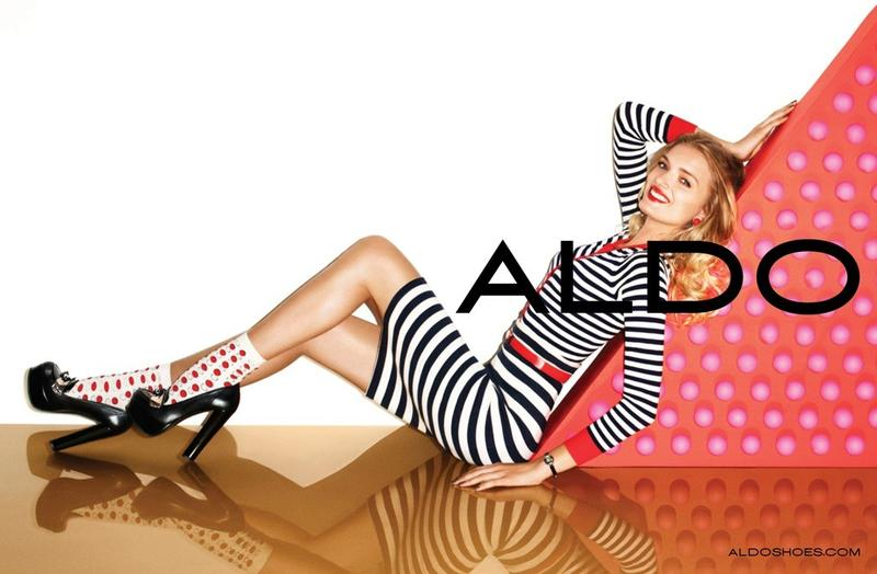 Lily Donaldson and Matthew Gray Gubler for Aldo