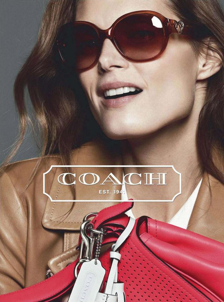 Top Model Cast For Coach Spring Summer 2013 Advertisement