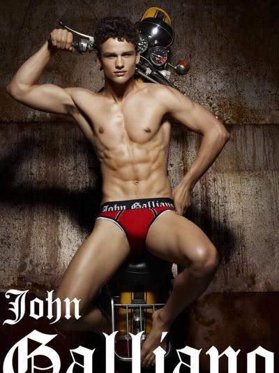 Simon Nessman for John Galliano Underwear