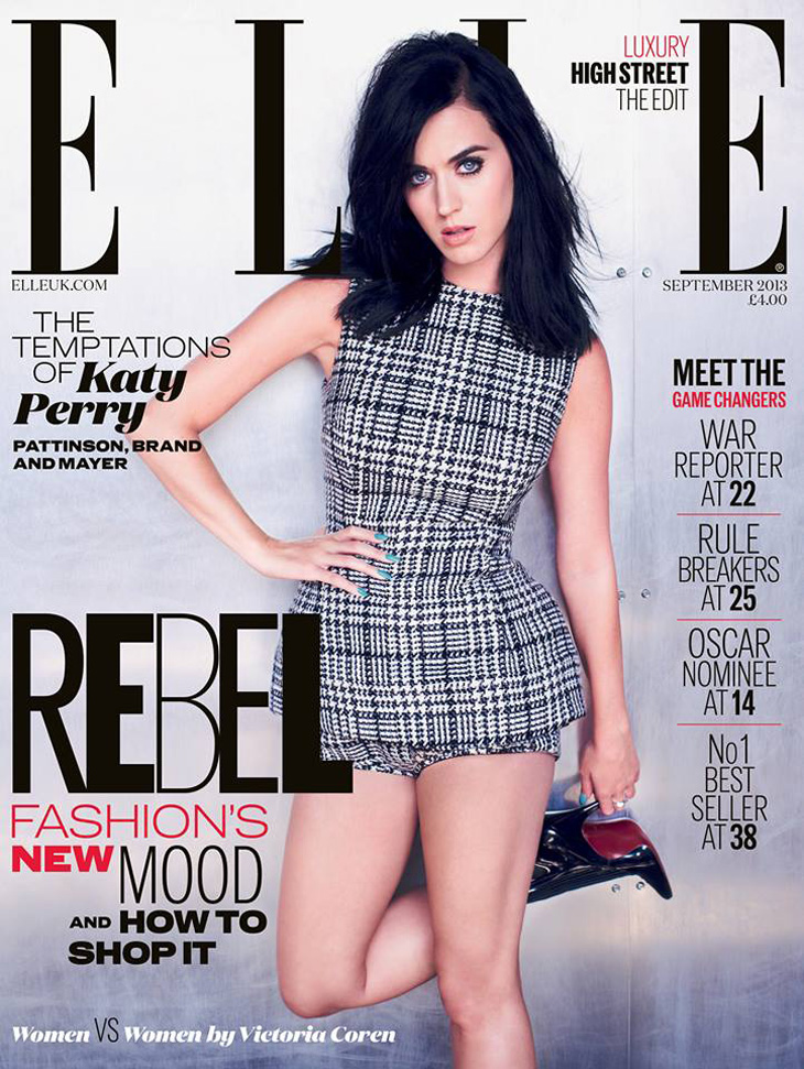 Katy Perry By Mariano Vivanco For ELLE UK