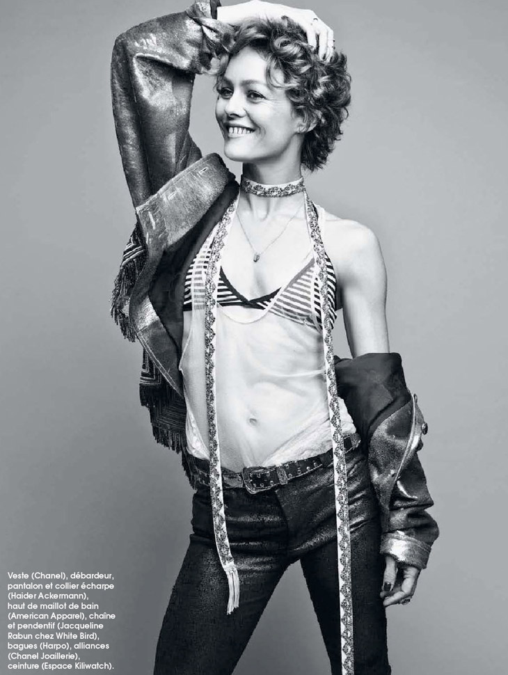 Vanessa Paradis for Marie Claire France by Dancian
