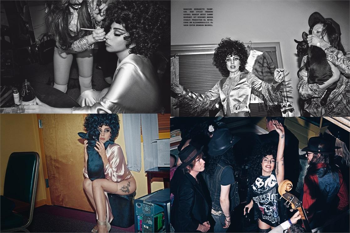 Lady Gaga  Tony Bennett for LUOMO Vogue