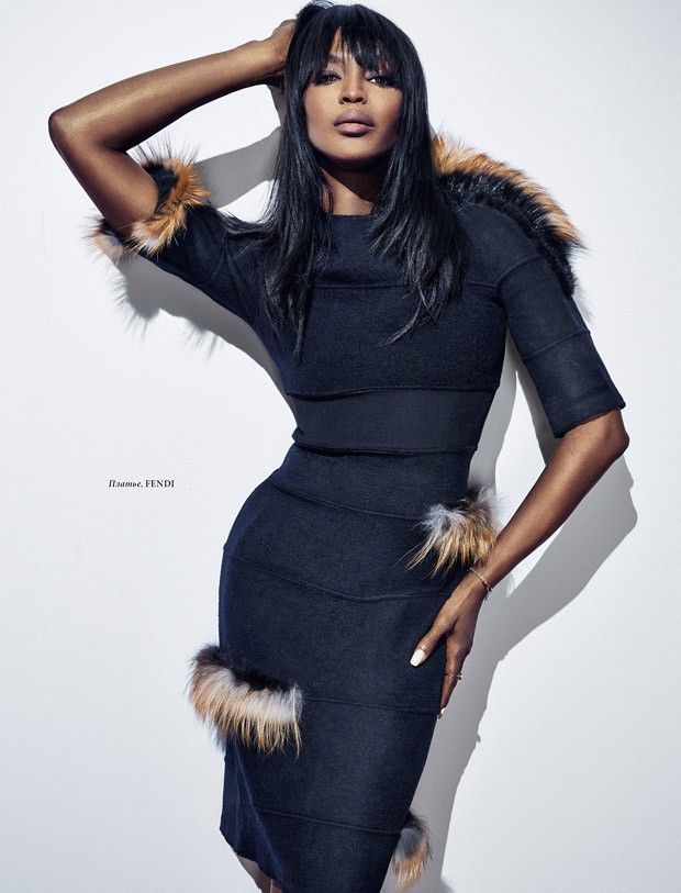 Naomi Campbell for LOfficiel Ukraine by An Le
