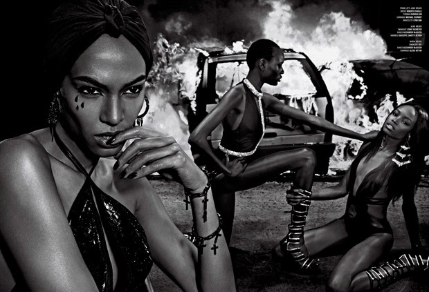 Fight Fire With Fire By Steven Klein For V Magazine
