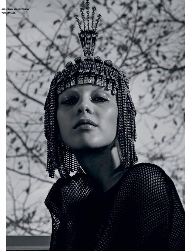 Lida Fox for iD Magazine by Roe Ethridge