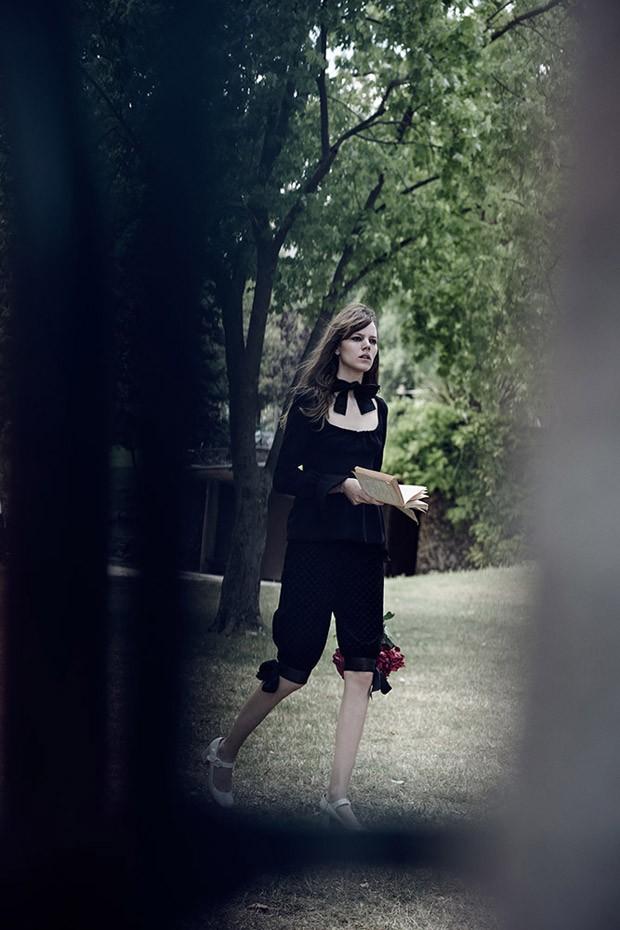 Freja Beha Erichsen  Lara Stone for W Magazine