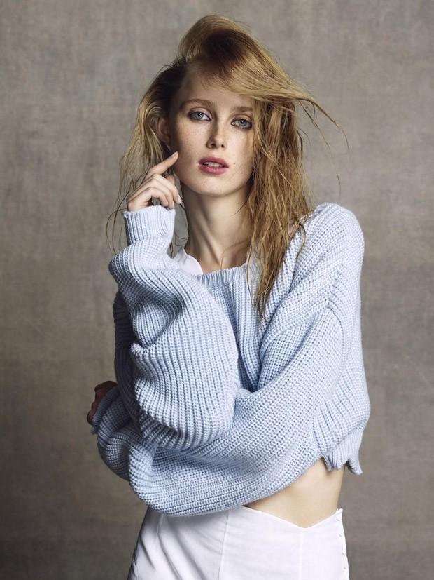 Rianne Van Rompaey Covers Vogue Netherlands
