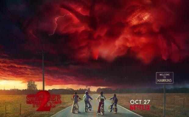 Black Lab Fall Wallpaper Here S The 1st Trailer For Stranger Things 2