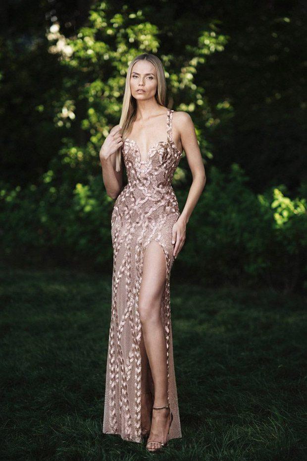 Natasha Poly Models Atelier Versace Fall Winter 2018 19