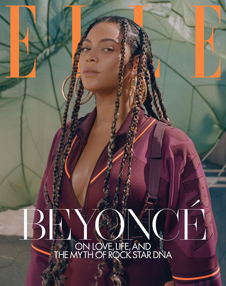 beyonce is the cover star of elle
