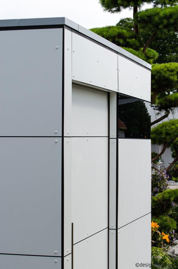 Design gartenhaus designsetter minimalist design lifestyle blog - Gartenhaus fassadenplatten ...
