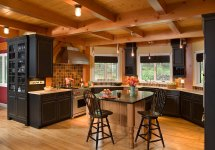 Celebrated Snowboarder Mountain Home Design Living Vt
