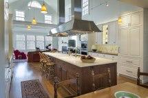 Colonial Kitchen Design Living Vt