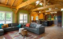 Net England Timber Frame Home Gorgeous Green