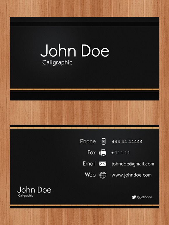 Business Cards PSD
