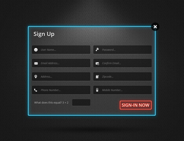 Login Form Templates With Sources In PSD IDevie