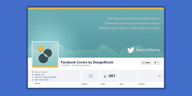 Facebook Covers 150 professional facebook covers with sources in Photoshop  iDevie