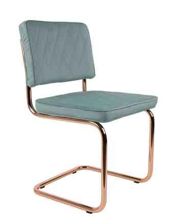 Diamond stoel Zuiver licht blauw