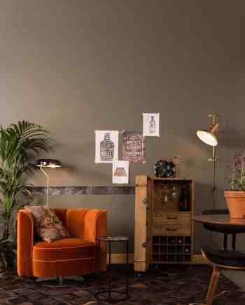 Flower loungestoel Dutchbone