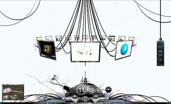 80 Best Flash Websites Design in 3D