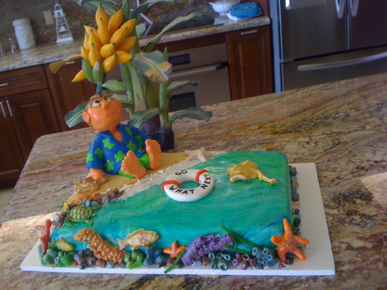 Cool birthday cake ideas for adults for Adult birthday cake decoration