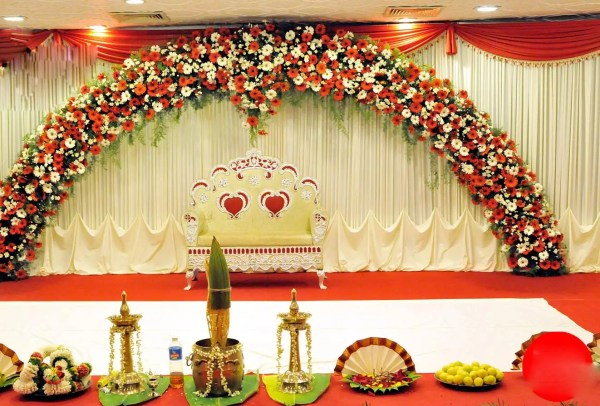 Wedding Stage Decoration With Flowers Vtwctr