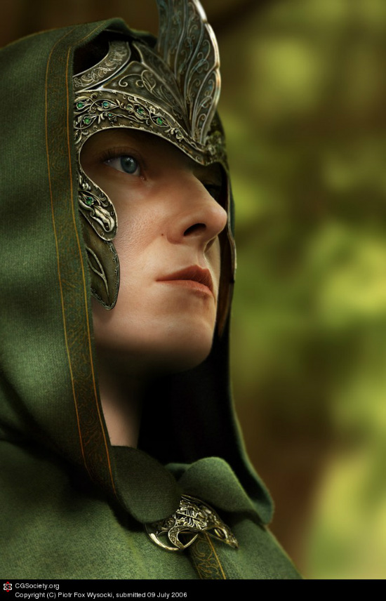 60 Amazing 3D portrait and character photorealistic renders