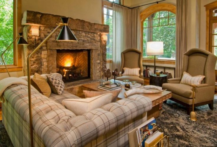 gas-fireplace-brown
