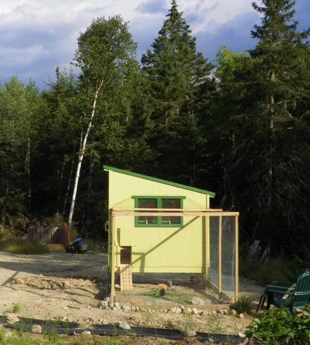 Downeast Thunder Farm Chicken Coop Plans