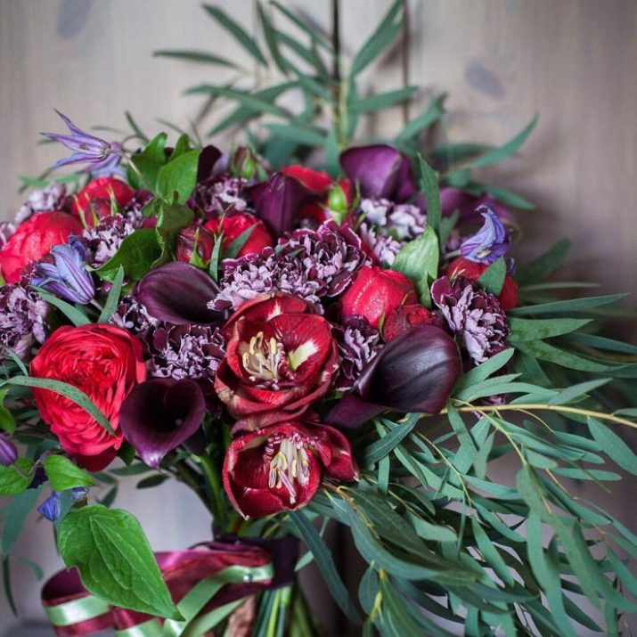 winter silk flower arrangement ideas #winterflowerarrangement