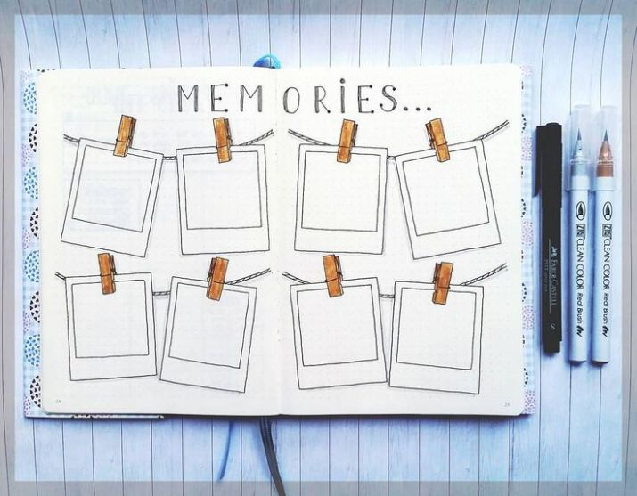 Log of Memories Travel Bullet Journal