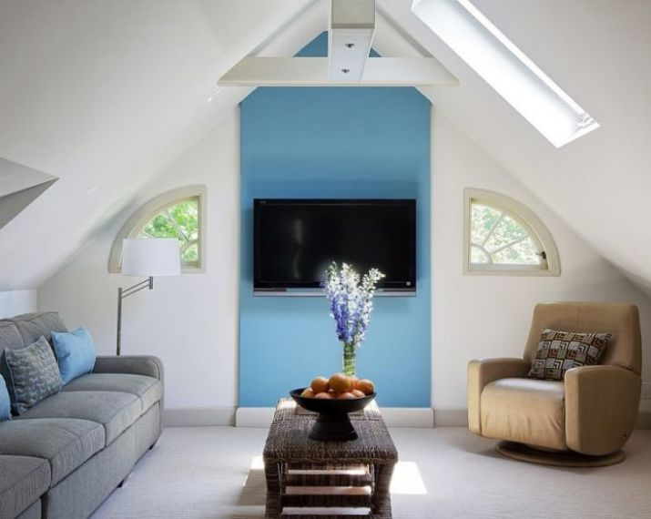 attic space living room