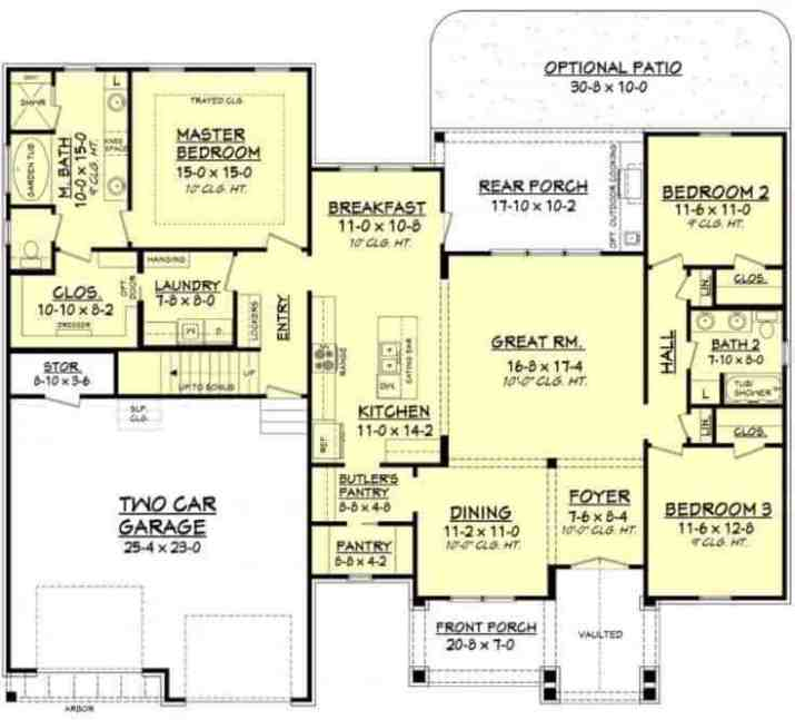 Contemporary-Ranch-House-Plans