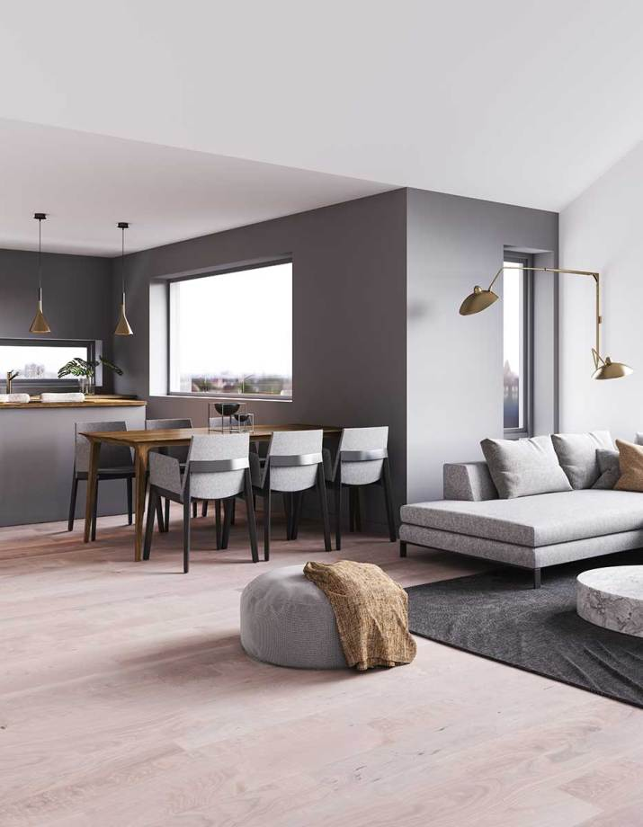 Modern-grey-living-room-and-dining-room