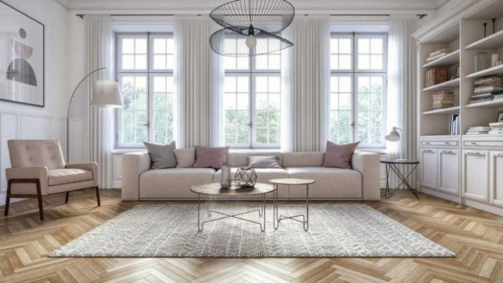 Modern-scandinavian-living-room-interior-with-parquet-flooring