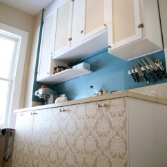 Melamine Kitchen Cabinets Wall Mounted Faucets Before & After: Claire's Chair Kyla's – Design ...