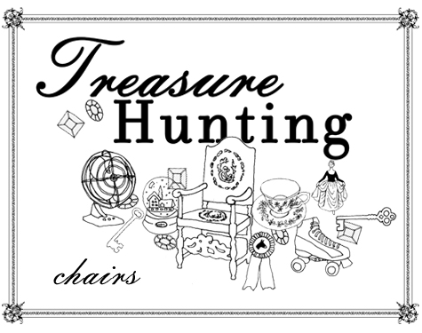 treasure hunting: chairs
