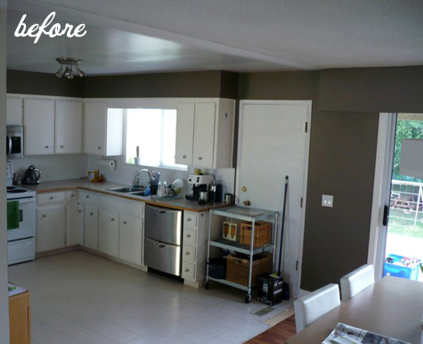 before  after two kitchen renovations  DesignSponge