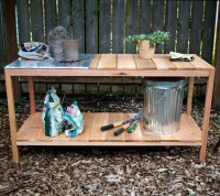 diy project: outdoor planting table  Design*Sponge