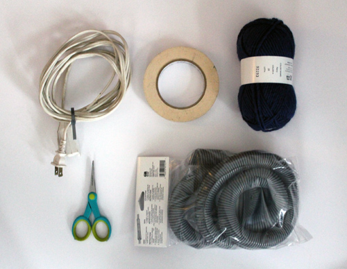 diy project sculptural braided extension cords  Design