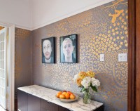 hand-painted walls  Design*Sponge