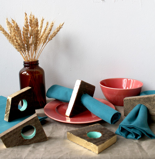 diy wood napkin rings
