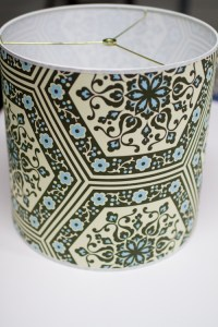 upholstery basics: how to make a lampshade  Design*Sponge